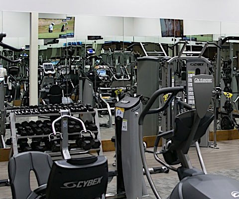 Get into Shape at the NEW Riverwalk Fitness center at the Heritage Resort with exercise machines, fitness classes, aerobics, zumba, and weight training