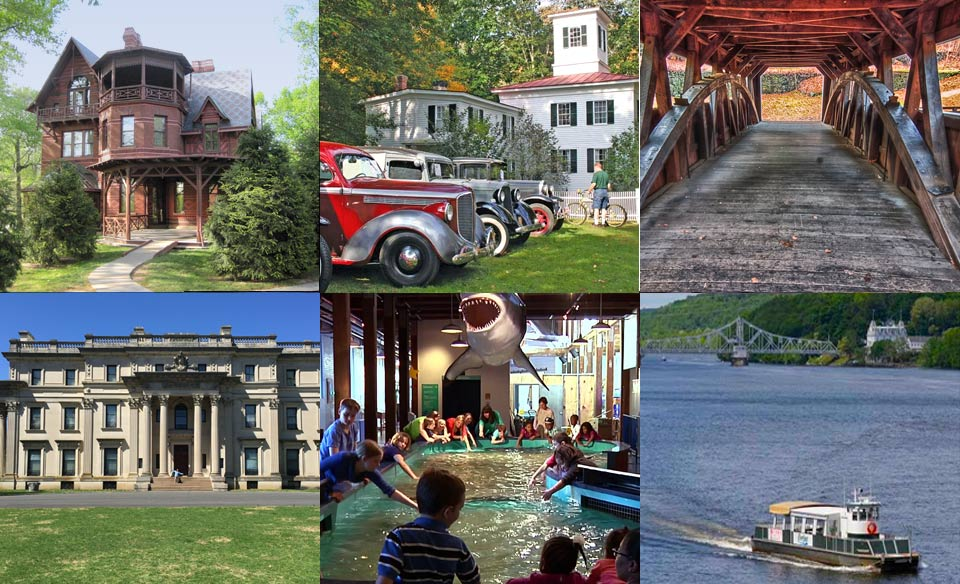 Terrific excursions to the Harriet Beecher Stowe House, Mark Twain's House and Museum, the Vanderbilt Museum at Hyde Park, Essex reconstructed steam locomotive and river boat ride for an outstanding 2018 Passover program at the Heritage in CT