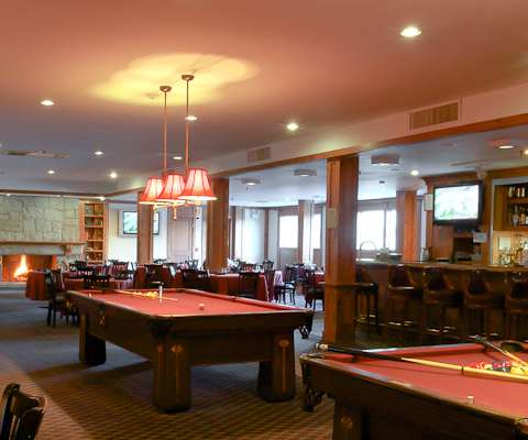 The Heritage Reosrt billiards room- a great place to hang out on  Chol Hamoed with cakes chocolates and sweets, snacks, drinks, and your every in-between-meals need
