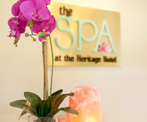 The Spa at the Heritage with manicures, pedicures, facials and body treatments, everything you need to soothe your senses at the Heritage Golf resort for Passover 2019